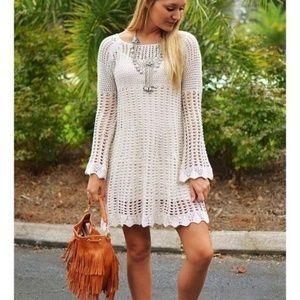 Women's lovemarks Cream Dress - NWT - L